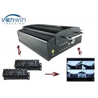 Buy 720P HD 3G Mobile DVR with 4CH Mobile DVR CMS platform for CIty Bus at wholesale prices