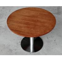Quality Durable Wooden Dining Room Tables Polished Metal For Restaurant for sale