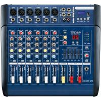 Quality 6 Channel Professional Audio Mixer for stage XR600F-MP3 , DJ Power Mixer for sale