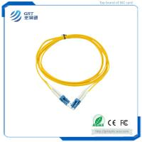 Durable low insertion loss 3m duplex LC-LC connector 10Gb SM fiber optic Patch Cable with SEIKO plug