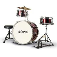Quality Junior PVC 3 Piece Basic Adult Drum Set ISO9001:2008 / CE / EN71 A364S-806 for sale