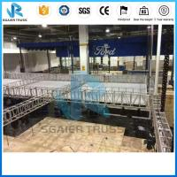 Quality 20 * 20m Trade Show Truss Exhibition Stand , Trade Show Booth For Car Show for sale