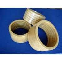Buy High Resilience Kevlar Gland packing Low Cold Flow Chemical resistance at wholesale prices