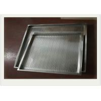 Quality 304 Stainless Steel Wire Mesh Tray With Rectangular For Filtering for sale