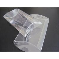 Quality gift box wholesale clear PVC box small pillow shape die cut  box for sale