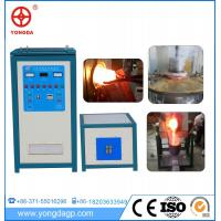 China 120kw igbt super audio frequency induction heating machine for steel rod on sale