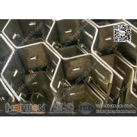 """Buy cheap Hex-Mesh Refractory Lining Stainless Steel 310S 3/4"""" depth, 16gauge thickness 