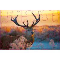 Quality Educational Kids  3D Puzzle Games / 3D Lenticular Printing Jigsaw Puzzles/ Custom 3D Lenticular PET Puzzles for sale