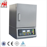 Quality PID Automatic Controller 1800 Degree  high box muffle furnace laboratory metal ceramic muffle furnace for sale