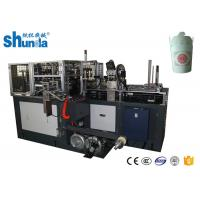 Buy cheap CE Certificated Paper Noodle Box Doner Box Making Machine With Hot Air / Ultrasonic Device from wholesalers