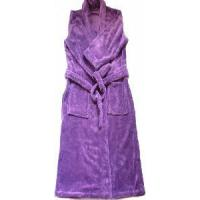Quality Coral Fleece Bathrobe for Lady (LYBR-001) for sale