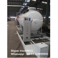 Quality 8,000Liters mobile skide mounted lpg gas propane filling station for gas cylinder for sale, skid lpg gas plant for sale for sale