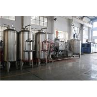 Quality Automated Mineral Water Purification Machine Aseptic Distilled Water Treatment for sale