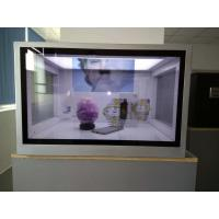 Quality Custom Size Transparent LCD Showcase For Advertising Aluminum Extrusions Frame for sale
