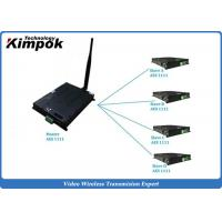 Buy TDD COFDM IP Mesh Video + Audio + data Ethernet Transceiver Two-way Communicatio at wholesale prices