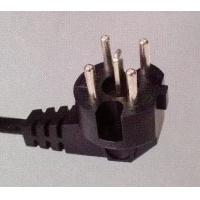 Quality Kema approved 5-pin plug, Holand/Netherlands power cord for sale