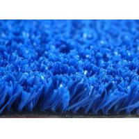 Quality Abrasion Resistance Tennis Court Artificial Grass Non Infill Diamond Shape for sale