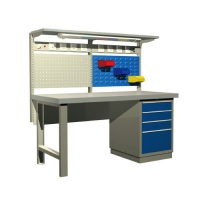 Quality CE ISO Machinery Repair ESD Laminate Cleanroom Bench for sale