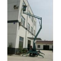 Quality Aerial Hydraulic Boom Lift Steel Material 2.8 × 1.2 × 2.45 Color Customized for sale