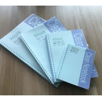 Quality ESD Reading A5 50 Sheets PVC Cover Spiral Cleanroom Notepads for sale