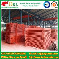 Buy cheap 100M CFB Boiler Superheater Petrochemical Natural Gas Industry Boiler Spare Part from wholesalers