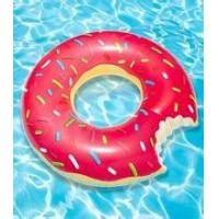 Quality 80CM PVC 0.3mm thickness inflatable donut tube / rings for beauty girl for sale