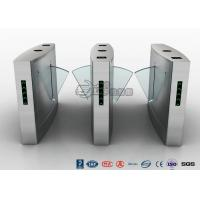 Quality Waist Height Turnstile Access Control Automatic Flap 12V DC With Ticketing System for sale