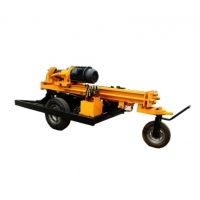 Quality ISO 3.0MPa 200m Well Drilling Machine By Air Operated for sale