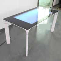 China 43 Inch Flat Surface Capacitive Touch Table Interactive Coffee Kiosk with LCD display on sale
