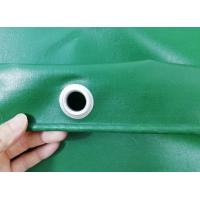 Quality Waterproof UV Stabilised PVC Truck Cover B1 Flame Retardant In Green Color for sale
