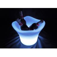 China Multi Color Changing LED Ice Bucket / Champagne Ice Bucket Non Toxic Material on sale
