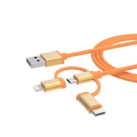 Quality Round C89 Mfi Lightning 2.4A 6ft Usb Charger Cable for sale