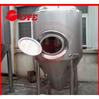 Quality Manual Industrial Beer Brewing Equipment With Mash Tun , Conical Beer Fermenter for sale
