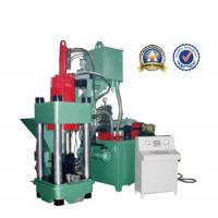 Quality Working Smoothly Green Scrap Metal Briquetting Press 45KW Y83 - 400 for sale