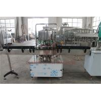 Quality 500 - 1000 BPH CSD Beverage Filling And Capping Machine For Plastic Bottle Water Juice for sale