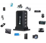 Quality 7 Ports Usb Charging Hub 480MBps , Dustproof Multiport External Powered Usb Hub for sale