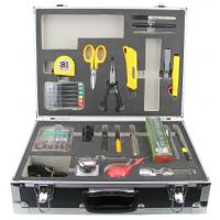 Quality Economic Fiber Optic Tool Kits , Fusion Tool Kit With Blow Brush / Emergency Lamp for sale
