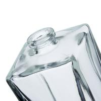 Buy 100Ml Colorless Cuboid Empty Perfume Spray Bottles For Perfume Packaging at wholesale prices