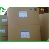 Quality 200gsm Large Cardboard Paper , White Uncoated Woodfree Paper For Book Printing for sale