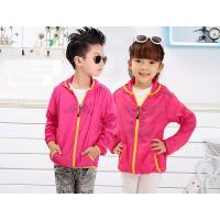 Quality Wholesale Custom Children  Summer  Ultra Thin Skin Clothes for sale