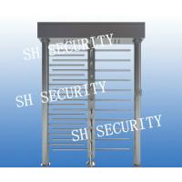 Quality RFID access control dual full height turnstile pedestrian turnstile for sale