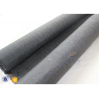 Buy 800g Black Vermiculite Coated Fiberglass Fabric For Fire Blanket at wholesale prices