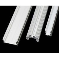 Quality 6063 - T5 Construction Aluminum Profile Extrusion Channel With PVDF / Powder Coating for sale