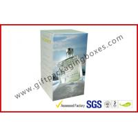 Coated Paper 200gsm Rigid Gift Boxes , Custom Printed France Wine Packaging Boxes For Gift