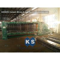 Quality Smooth Running Hexagonal Wire Netting Machine , Automatic Gabion Net Machine for sale