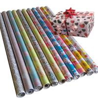 Quality 30inch x 120inch  80gsm coated paper wholesale gift wrapping  paper tissue paper for sale