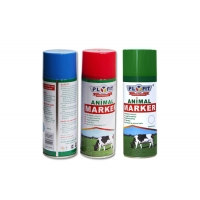 Quality Cows Horse 400ml Tinplate Animal Marking Spray Paint for sale