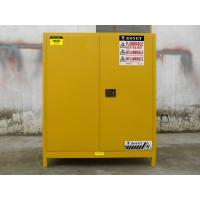 Quality Double Layer Flammable Drum Storage Cabinet Premium Cold Rolled Sheet Steel for sale