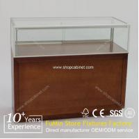 Quality 2015 NEW design glass display cabinet/jewelry display cabinets for sale for sale