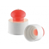 Quality JL-CP103B leakproof PP 24 410 Push Pull Water Bottle Caps for sale